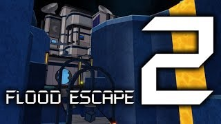 ROBLOX: Flood Escape 2 | Blue Moon [Crazy + New OST] (Multiplayer)
