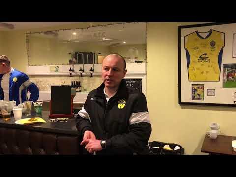 Post-Match: Paul Carden on Warrington Town 0-2 Lancaster City