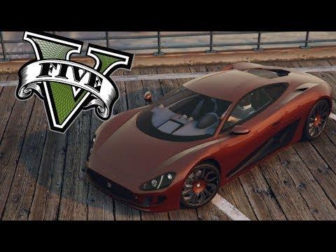 GTA V   NOVO CARRO SUPER MUITO LINDO, OCELOT XA 21