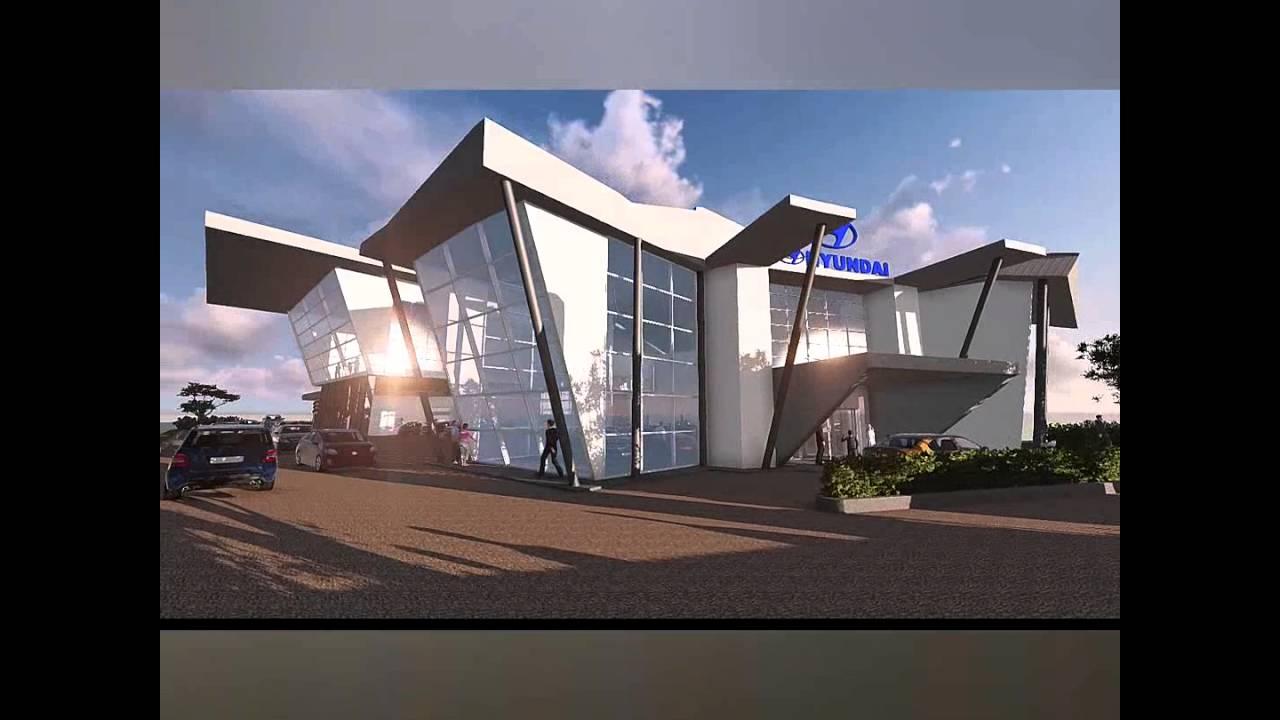 Car Showroom Design Hyundai Showroom Youtube