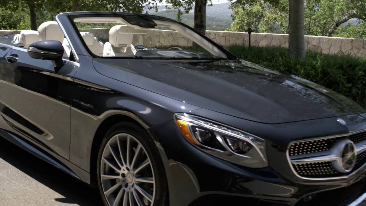 Mercedes-Benz 2017 S-Class Cabriolet – Video Brochure - YouTube