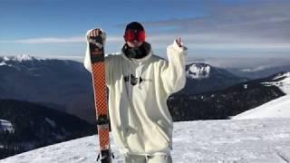 Как прыгать с трамлина на лыжах