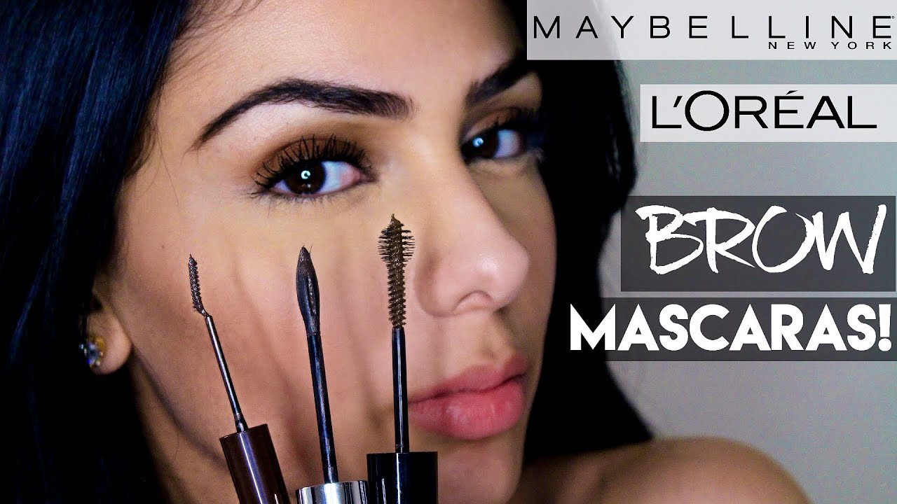 ad584796af7 HOW TO : Pick between the Maybelline Brow Drama, Brow Precise, & the  L'Oréal Brow Stylist - Review - YouTube