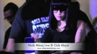 DJ TRAGEDY NICKI MINAJ LIVE @ CLUB ABYSS SAYREVILLE NJ
