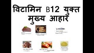 विटामिन B12 मुख्य आहार   Top Vitamin B12 Rich Foods + Vitamin B12 Benefits