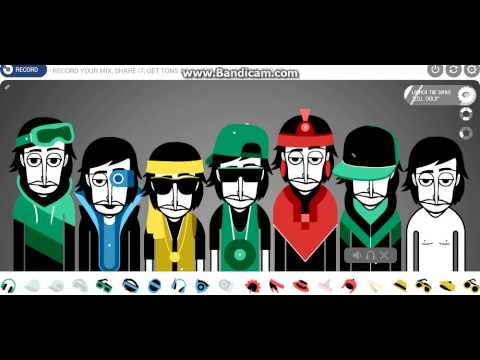 Програма для создание музыки Incredibox