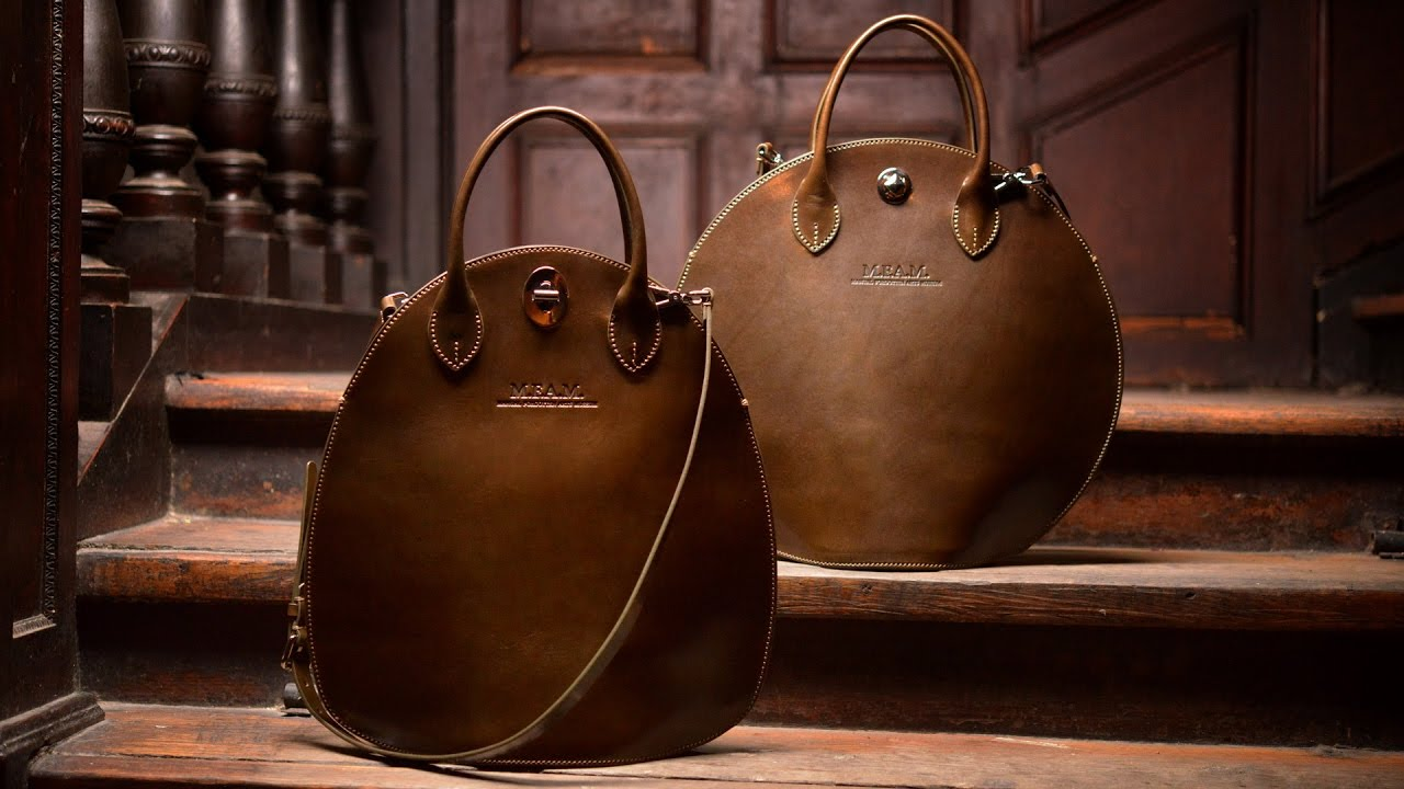 Handmade Leather Bag Production