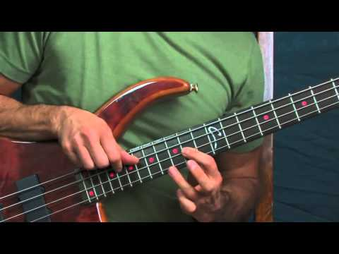 easy bass guitar lesson rudolph the red nosed reindeer johnny marks