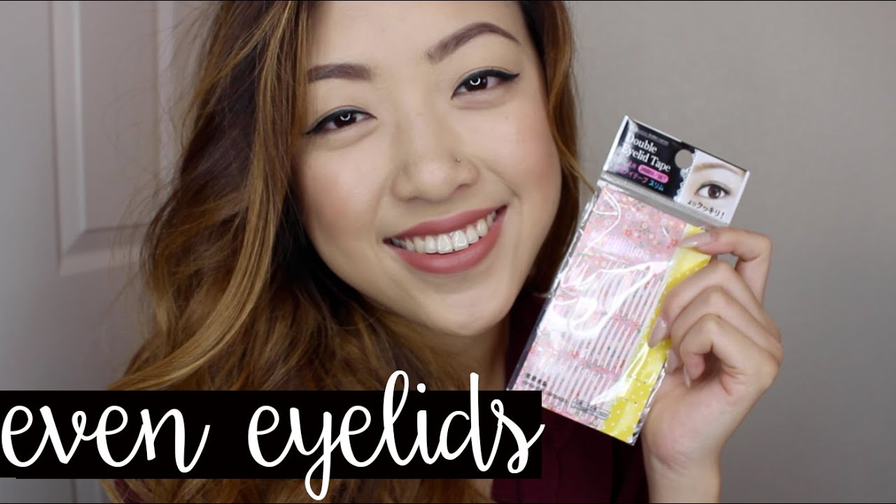 How to even out your eyelids without surgery youtube - How To Even Out Your Eyelids Without Surgery Youtube 3