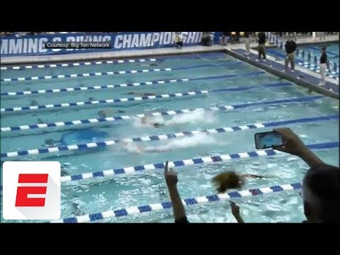 Download Youtube: Caeleb Dressel swims 50 free in 17.81 seconds at NCAA championships, breaking prelims record | ESPN