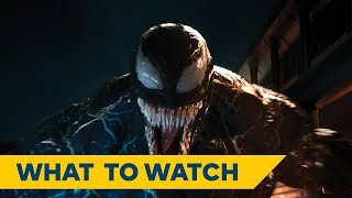 Now Playing: Venom | Starring Tom Hardy, Michelle Williams & Riz Ahmed