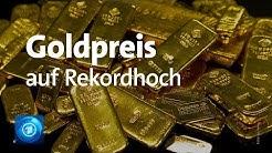 Goldkurs auf Rekordhoch