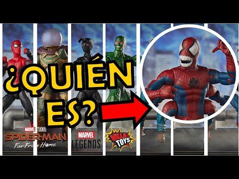 todas-las-marvel-legends-de-spiderman-far-from-home