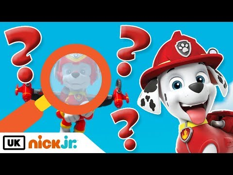 Paw Patrol | Can You Spot Marshall? | Nick Jr. UK