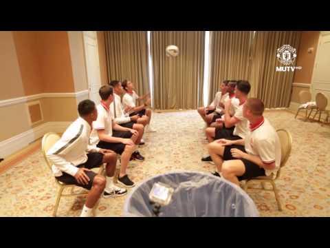 Header Bin Challenge - Manchester United