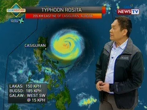 BP: Weather update as of 4:14 p.m. (Oct. 29, 2018)