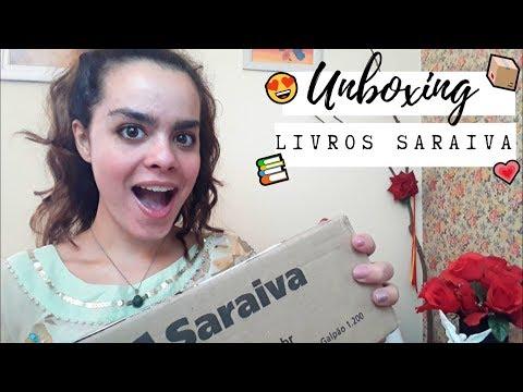 UNBOXING SARAIVA | MUITOS LIVROS ESPECIAIS!