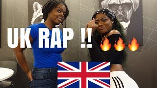 FIRST REACTION TO UK RAP!!