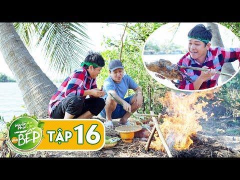 Full #16   Trường Giang làm Tân Trề ngất ngây với món vịt nướng rơm ngon bá cháy