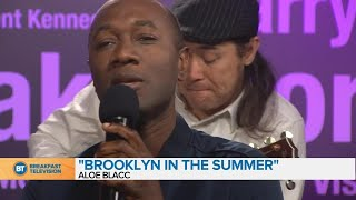 """Aloe Blacc performs """"Brooklyn in the Summer"""" on BT Montreal"""