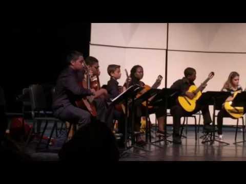 Classical guitar concert 2015