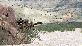 US Sniper - Sniping In  Raq 650 M HEADSHOT AMER CAN Sniper In Action - ARMA 3 Milsim