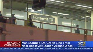 Man Stabbed On Green Line Train Near Roosevelt Station