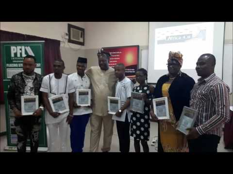 AFRICA4U AWARDS FOR THE NIGERIAN YOUTH HELD IN LAGOS- ORGANISED BY TONY FERNANDEZ