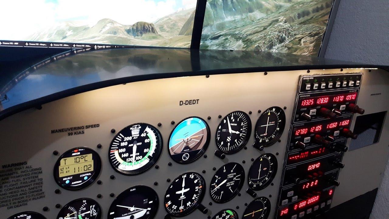 My Cessna 172 Cockpit
