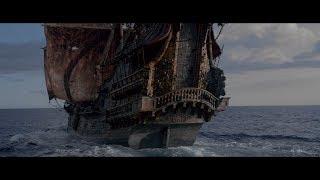 """Джек Воробей на корабле """"Месть Королевы Анны"""". Разговор Анжелики и Джека. HD"""