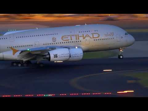 26+ mins Afternoon to Night Plane Spotting- Landing, takeoff & ground movement I Sydney Airport