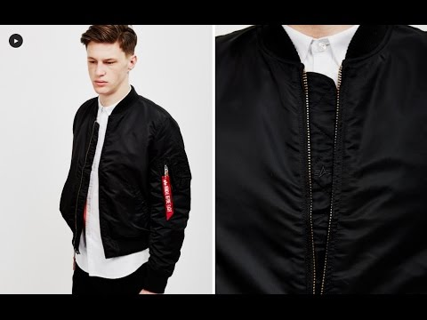 b6baeeb0c Alpha Industries MA1 VF 59 Bomber Jacket Black