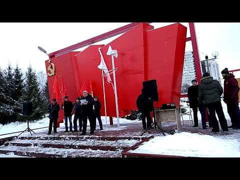 Бывший чекист Юрий Удовенко на митинге в Челнах рассказал о выборах