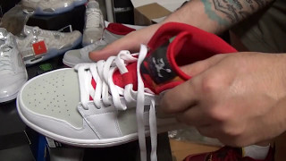 431952233f31 UNBOXING  NIKE AIR JORDAN 1 MID WR (HARE S) Detailed Review (Heat4Dae s23)
