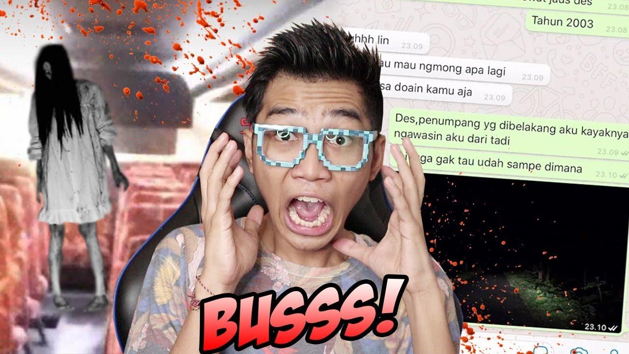 CHAT HISTORY INDONESIA TERANGKER!: DI BUS HANTU NYATA! #NERROR