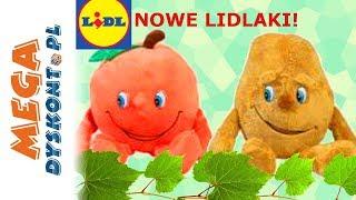 Lidlaki 2018 • Maskotki z Ryneczku Lidla!!! • Brzoskwinia & Ziemniak & Papryka