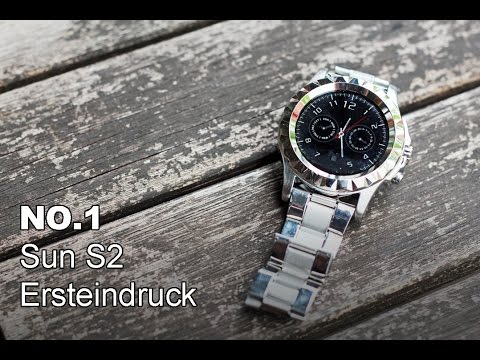 NO.1 SUN S2 Metal Smartwatch, 1.22' Round Display, MTK6 ...
