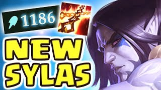 RIOT WENT TOO FAR!! NEW LUNAR WRAITH SYLAS JUNGLE SPOTLIGHT | MOST BROKEN ULTIMATE EVER