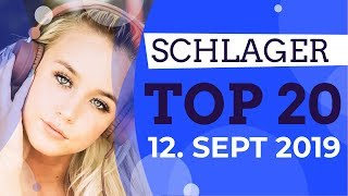 SCHLAGER CHARTS 2019 - Die TOP 20 vom 12. September