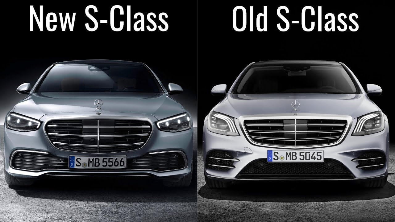 2021 Mercedes S-Class vs Old Mercedes S-Class - YouTube