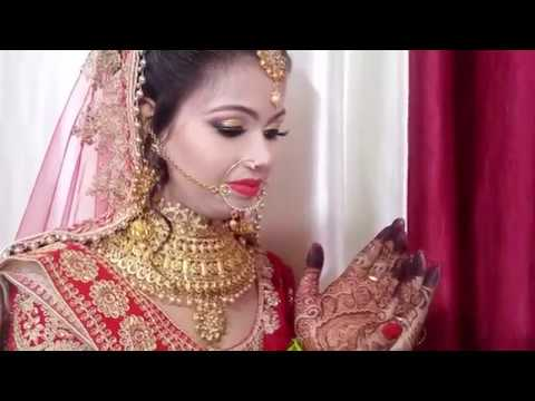 Simple And Easy Method Indian Bridal Makeup In Hindi Gayatri Beauty Parlour Youtube