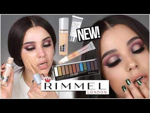 NEW! RIMMEL LONDON LASTING FINISH 25HR BREATHABLE LONGWEAR FOUNDATION! | MakeupByAmarie