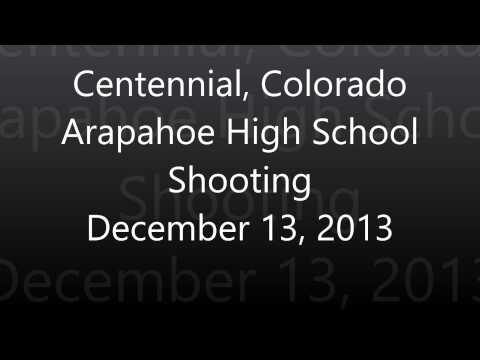 Centennial Colorado Arapahoe High School Shooting - Full Police Scanner Audio Feed - Dec 13 2013