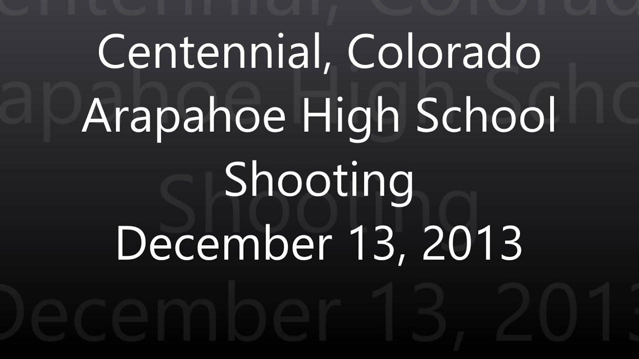 Centennial Colorado Arapahoe High School Shooting - Full Police Scanner  Audio Feed - Dec 13 2013