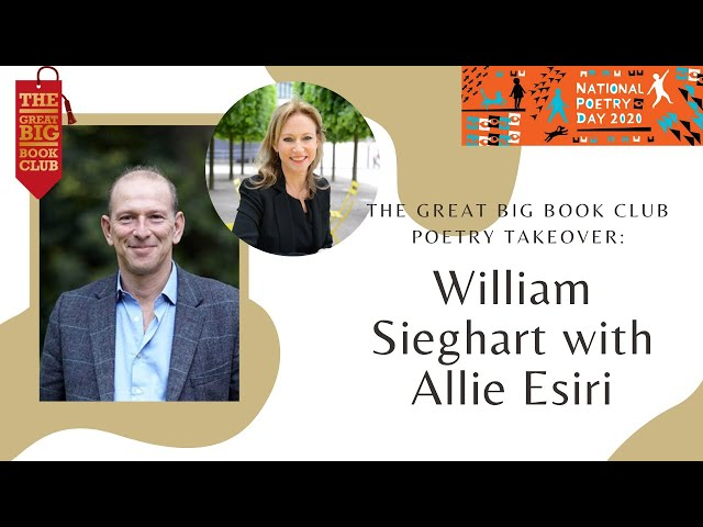 Weekly Chats: #NationalPoetryDay William Sieghart with Allie Esiri
