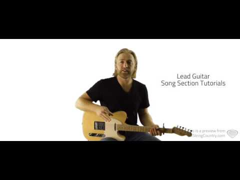 In My Arms Instead - Guitar Lesson and Tutorial - Randy Rogers Band