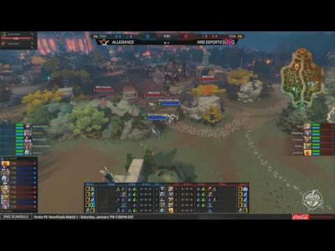 SWC 2017 - Quarterfinals NRG Esports vs. Allegiance Game 2