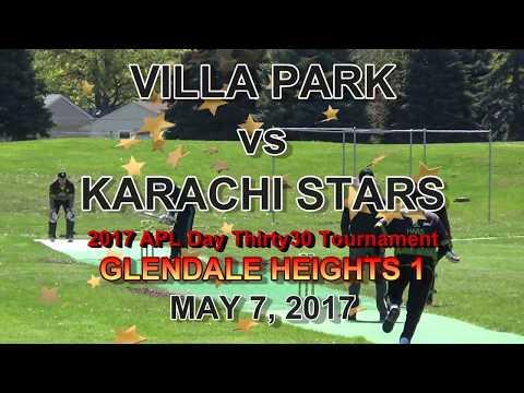 Villa Park vs Karachi Stars - Villa Park Bowling - 2017 APL Day T30