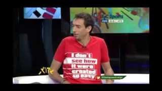 Hernan Boyero El personaje del gol En TYC SPORT Canal Argentino